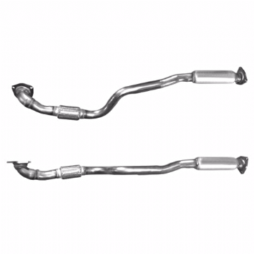 CHEVROLET 1.4 1.6 EXHAUST FRONT DOWN PIPE & SILENCER BM50236